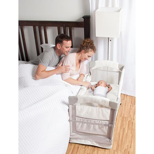 "Arm's Reach Luxe Mini Arc Co-Sleeper Bedside Bassinet - Arms Reach Concepts - Babies ""R"" Us"