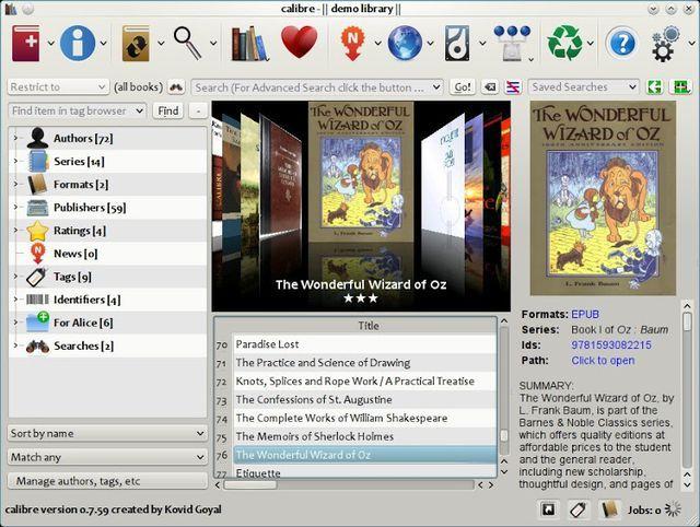 Calibre, software multiplataforma para gestionar y convertir ebooks
