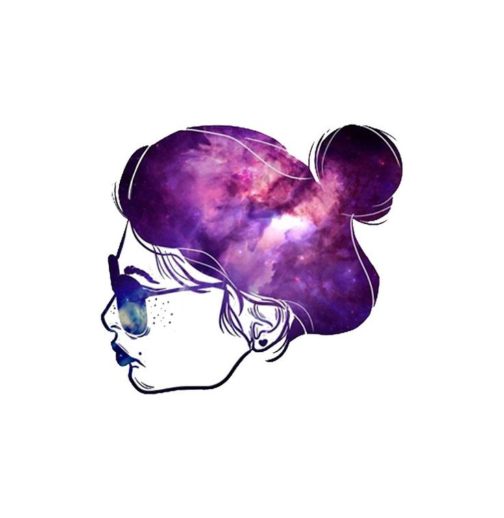 Galaxy Art Lady
