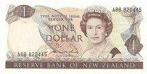 1 доллар выпуск 1981-1992 гг - 650 р.  Состояние на скане.Новая Зеландия