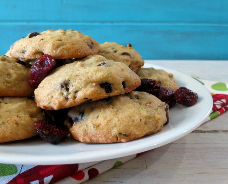 ... soft in the center and full of chocolate chips, cranberries and
