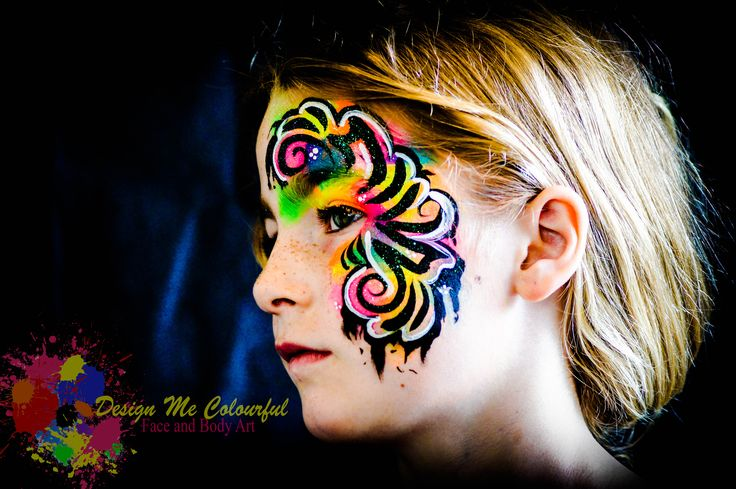 Girls Face Paint