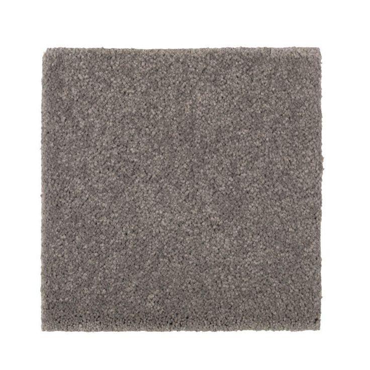 Carpet Sample - Gazelle II - Color Mountain Mist Texture 8 in. x 8 in.