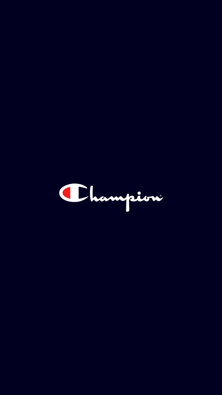 Champion White and Blue