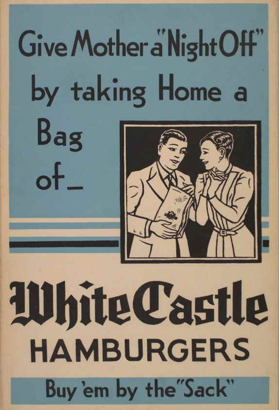 Vintage postcard ad