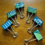 Decorated binder clips - it's the little things. - NV