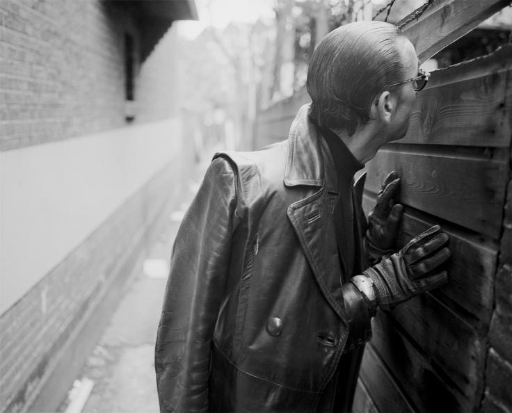 Poet & DJ Jules Deelder @ Rotterdam by John Vane