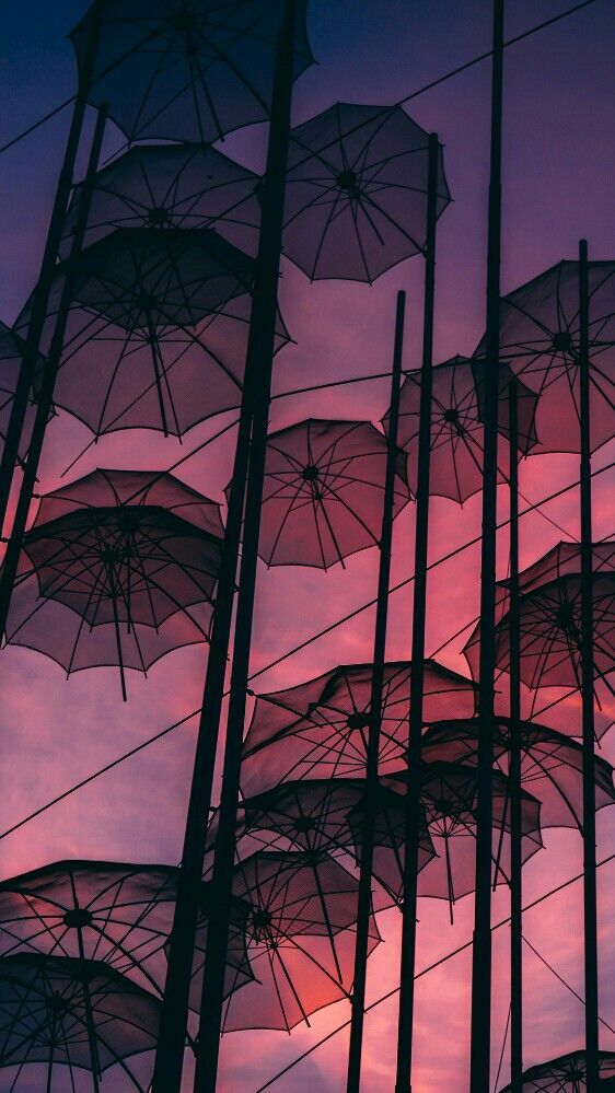 Wallpaper umbrella sky