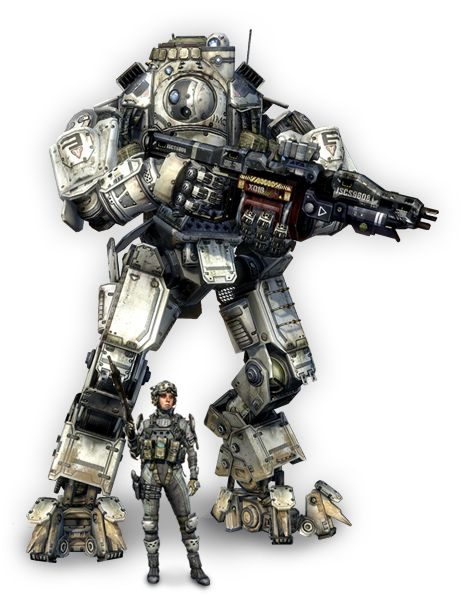 Titan and Pilot from Titanfall by Respawn Entertainment / EA