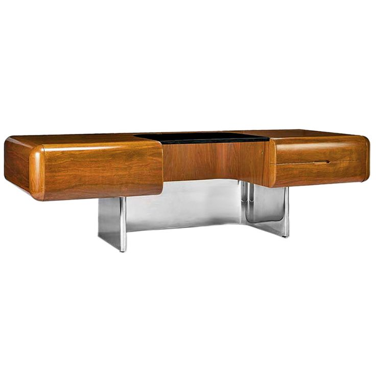 Charmant M.F. Harty, Desk For Stow Davis, 1970s.