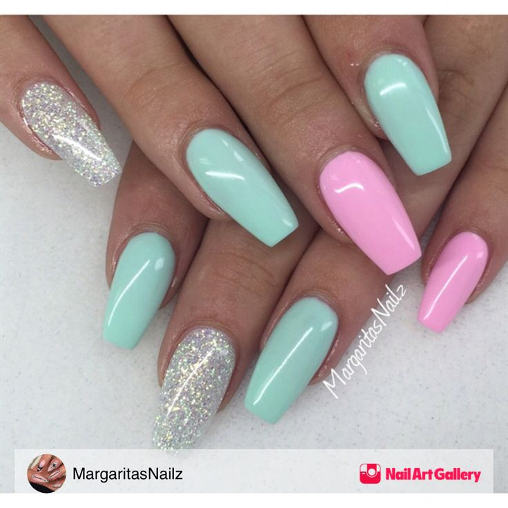 Summer Nails by MargaritasNailz via Nail Art Gallery #nailartgallery #nailart…