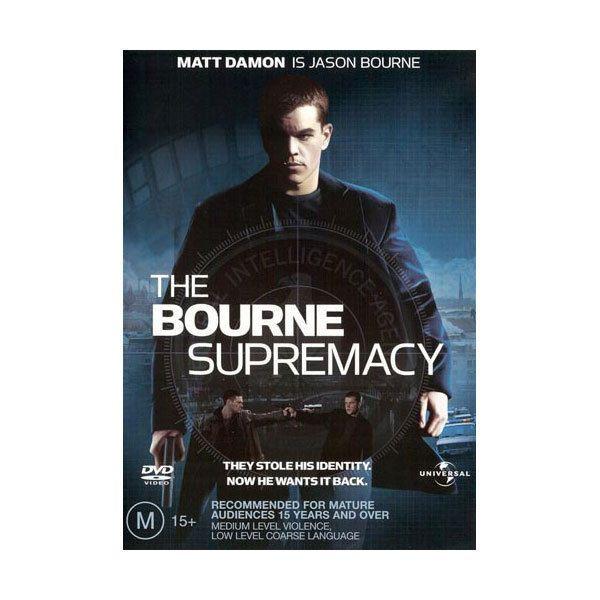 The Bourne Supremacy  (DVD) - Matt Damon