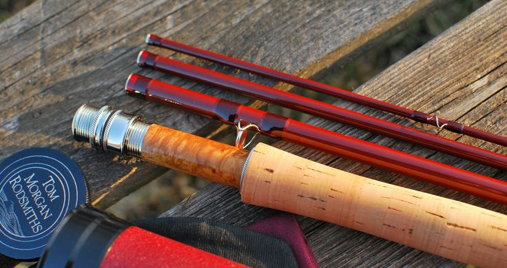 Handcrafted graphite and fiberglass fly rods: Tom Morgan 8 1/2' #6