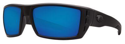 0a0b4c2e932 Costa Rafael 580P Polarized Sunglasses - Matte Black Teak Blue ...