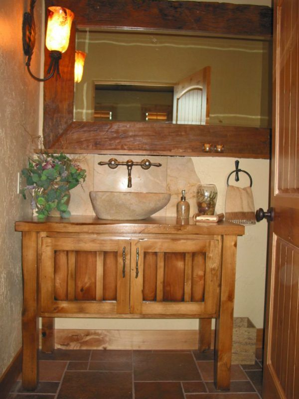 1000 ideas about vintage bathroom vanities on pinterest - Bathroom vanity with vessel sink sale ...