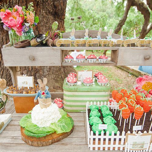 peter rabbit party | Birthday Garden Party Starring Peter Rabbit