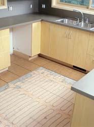 Heated Floors: Warmup ® Undertile ™ Heating Mat Systems, WarmlyYours  Honeywell Stocking Kits,