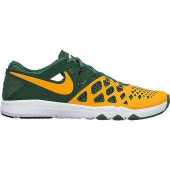 Men's Green Bay Packers Nike Green Train Speed 4 NFL Kickoff Collection Shoes