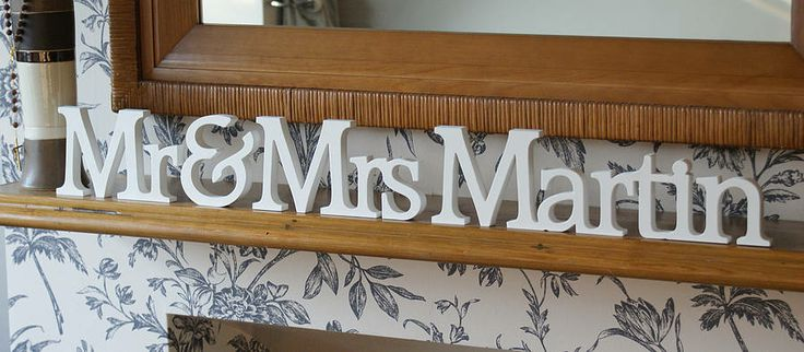 1000+ Ideas About Wooden Name Letters On Pinterest