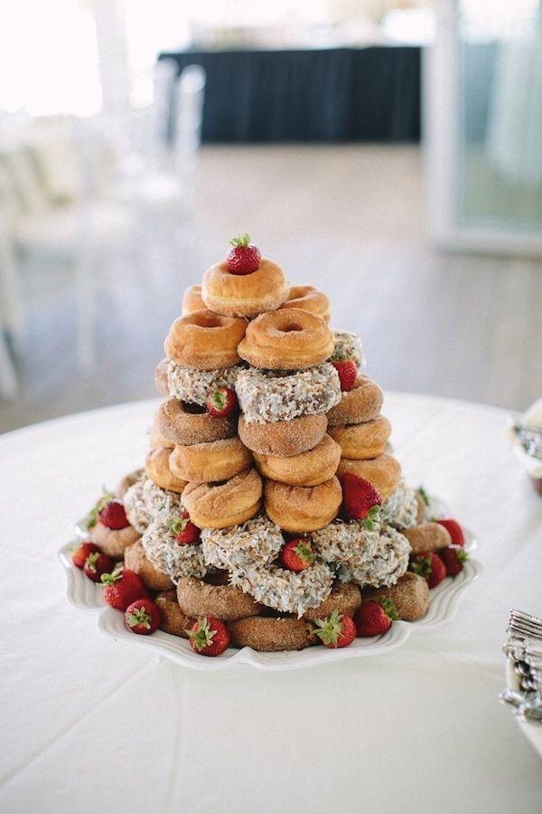 Doughnut Wedding Cakes Uk