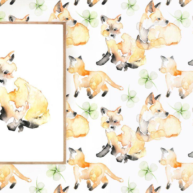 FOR FOX SAKE wallpaper Matilda Svensson