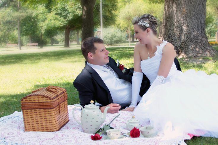 szabadtéri esküvői képek, esküvő fotózás
