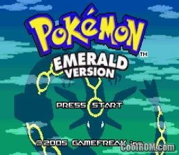 Pokemon Emerald ROM Download for Gameboy Advance / GBA  CoolROM.com