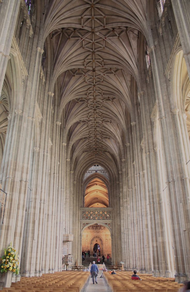 Canterbury Cathedral V by YunaHeileen (my two daughter's had their graduation ceremonies here)