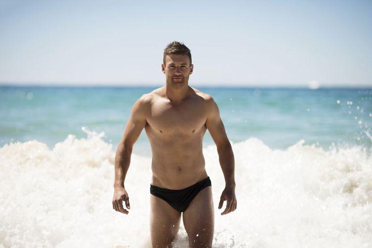 Body surfing. #menwearsluggers