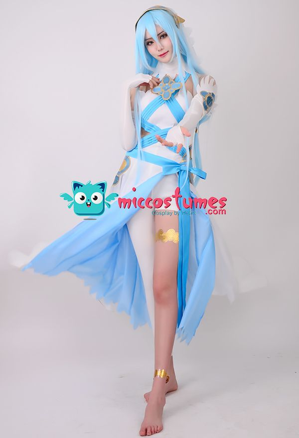 Fire Emblem Fates Birthright Singer White Azura Cosplay by miccostumes