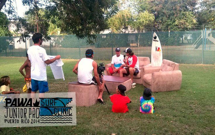 PAWA Junior Pro Surf Clinic Puerto Rico - Day 4 -
