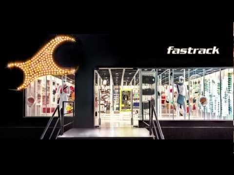 A #drivethru the Fastrack Flagship Store. Watch high-speed cars race on the street & drift inside the 'one-of-a-kind' Fastrack Flagship Store on CMH road in Bangalore.