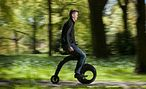 INFO SHEET: The Yike Bike - Radical bike redesign -  The YikeBike is a light, foldable, easily portable, electric bicycle. It is a radical redesign of the traditional bicycle. Christchurch inventor and entrepreneur Grant Ryan developed the YikeBike.