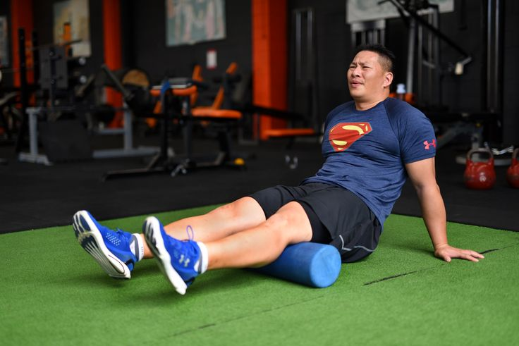Double Hamstring Release Technique. Sit on the floor and position a foam roller under both hamstrings. Place the rest f your bodyweight on both hands. Roll your hamstrings backwards and forwards on the foam roller for 30 seconds. This should release tension in the muscles of the hamstrings.