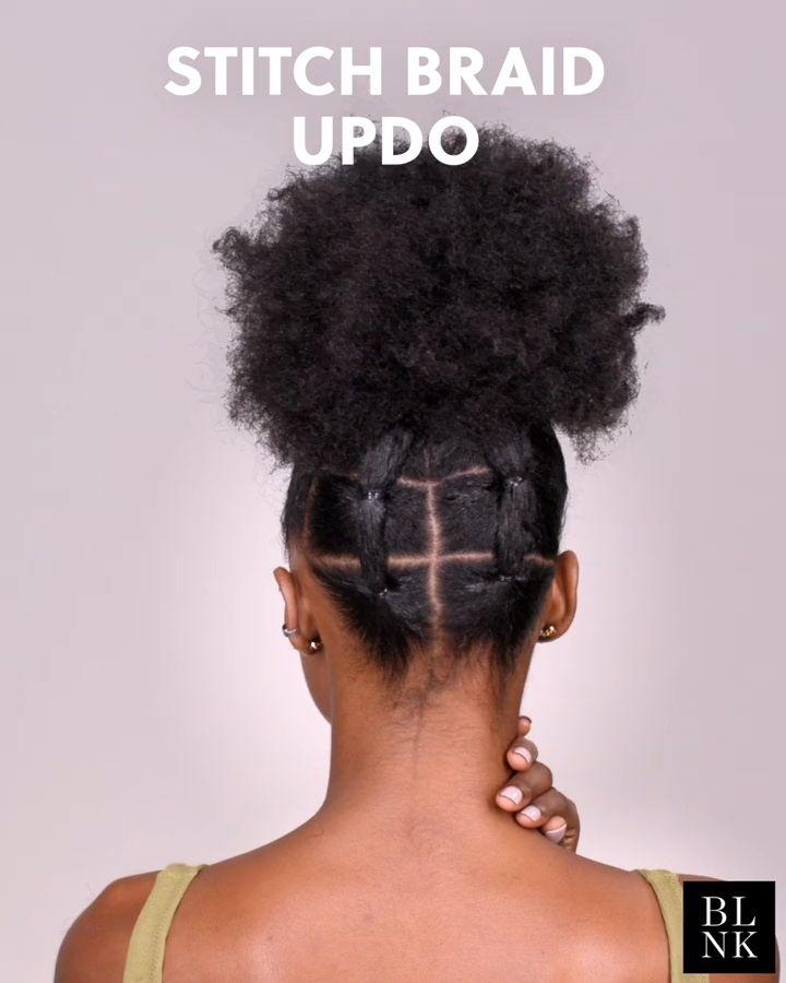 The Stitch Braid Updo