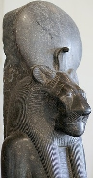 Sekhmet - the lion-headed woman - the protector of Ma'at (balance or justice)