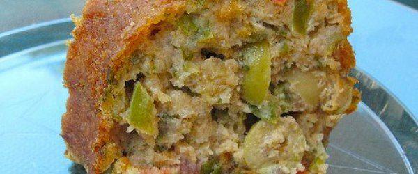 Foto - Receita de bolo integral salgado