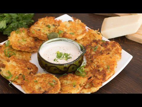 Cheese Potato Pancakes :: Home Cooking Adventure