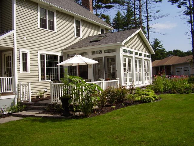 Pictures of sunroom exterior sunrooms sitting rooms and living rooms sunrooms pinterest - Sunroom off kitchen design ideas ...