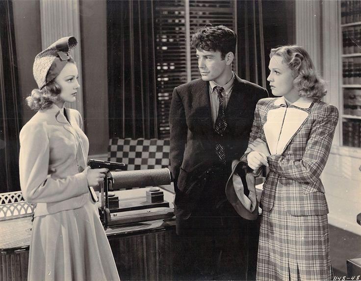 Lew Ayres, Virginia Grey, and Rita Johnson in The Golden Fleecing (1940)