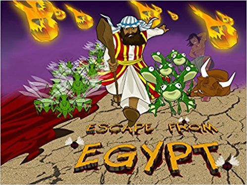 Escape from Egypt | Moses and the Ten Plagues: Bible Pathway Adventures: 9780473398163: Amazon.com: Books