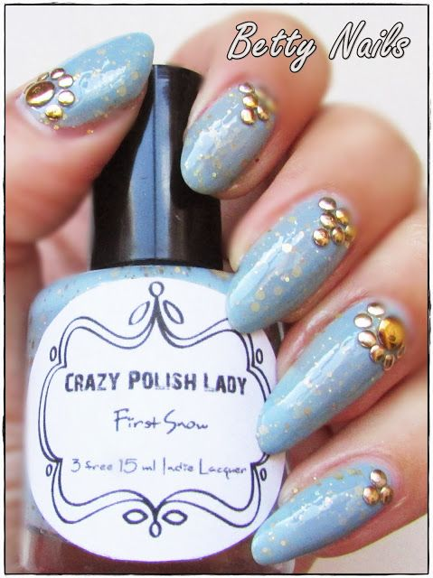 Betty Nails: Crazy Polish Lady - First Snow