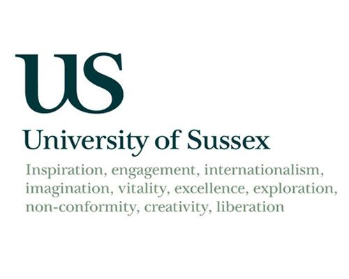 University of Sussex logo by London-based Blast (2004).