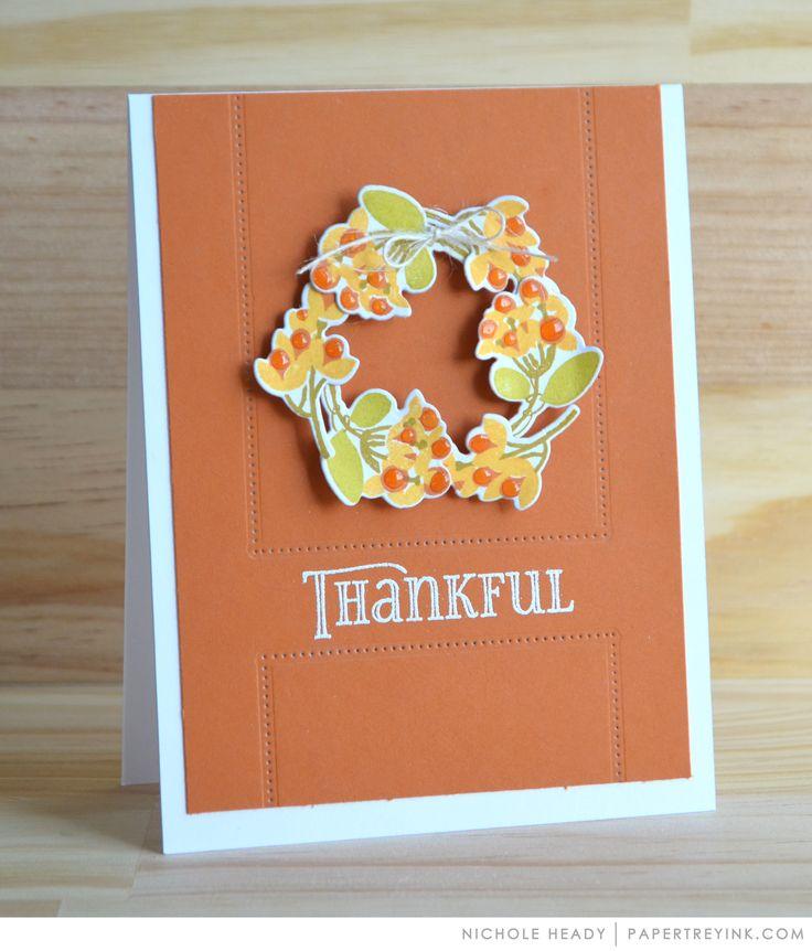 Для, благодарения из бумаги открытки