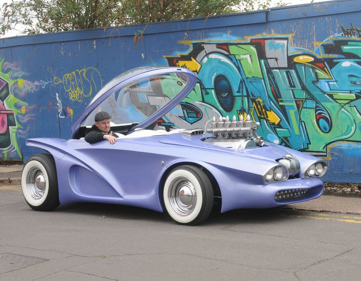 Quot Cosmotron Quot With Clear Ed Roth Influences Is A Custom