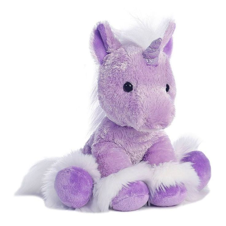 "12"" Aurora Plush Purple Unicorn Stuffed Animal Toy ""Dreaming Of You"" Horse 07791 #Aurora #Horse"