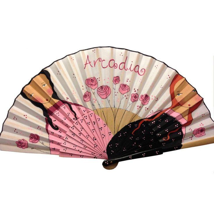 Abanicos para manualidades, abanicos para pintar, abanicos para pintores, abanicos para decorar, abanicos de peral, abanicos para bodas, abanicos personalizados