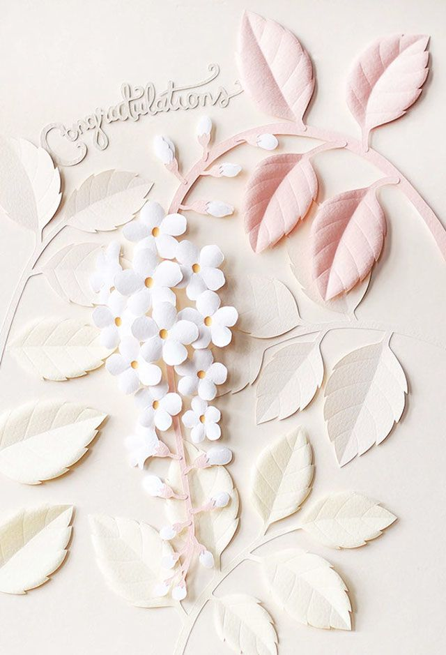 Delicate Papercraft Sculptures by Wirin Chaowana