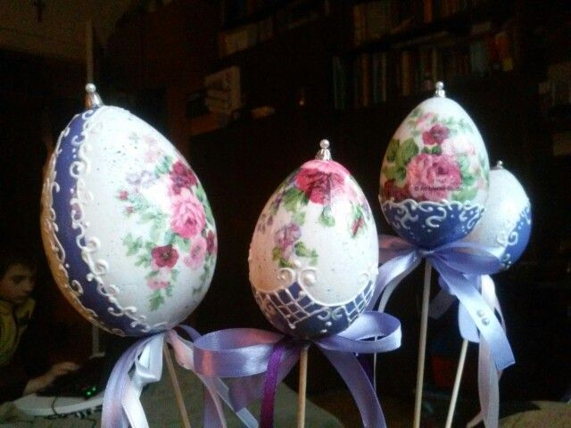 cute to do a version like this for kiddies easter baskets, a wand for the easter princess!