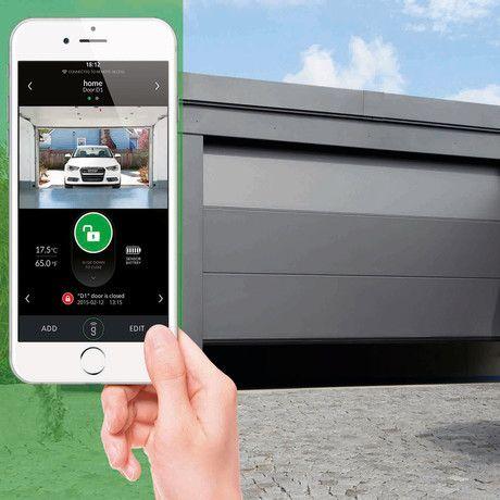 phones universal smartphone iphone with door android your open opener app doors garage